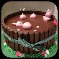 Pig cake!