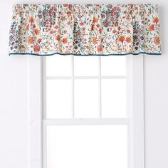 Simple corded valance