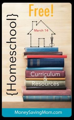 Take a look at this GIGANTIC list of Free Homeschooling Resources from MoneySavingMom.com for the week of March 14.