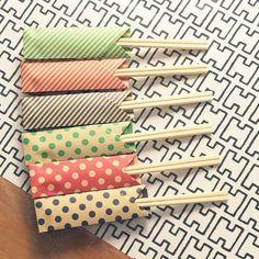 yua0615さんの、いつもいいねありがとうございます♡,アルテック生地,折り紙,100均 ,アルテックH55,ダイソー♡,ダイソー折り紙,はし袋,箸袋,折り紙箸袋,キッチン,のお部屋写真