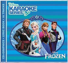 Frozen Karaoke CD And Digital Download