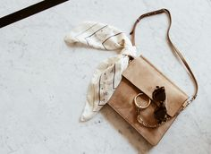 Bags | Inspiration | Camel | Scarf | Crossbody bag | More on Fashionchick