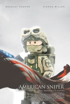 The LEGO Movie didn't get nominated for best animated feature. To make up for this baffling oversight, I added Lego to the best picture nominees. Lego Army, Lego Military, Military Armor, Lego Film, Lego Movie, Legos, Lego Website, Van Lego, Chris Kyle