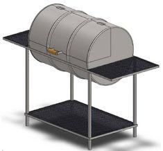 bbq barrel grill build