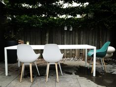Powder coating white colours in & outdoor by marcel ronda Maastricht