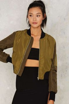 Shareen Bomber Jacket - Clothes | Best Sellers | Bomber Jackets | Bombers