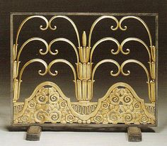Art Deco screen - Edgar Brandt