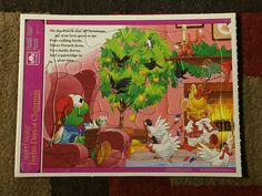 Frame-Tray Puzzle Seventh Vintage 1990/'s 8 x 11 Muppet Babies 12 Days of Christmas EXCELLENT