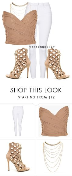 """""""Untitled #477"""" by kaythefrugalista on Polyvore featuring Topshop, Balmain and Wet Seal"""