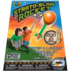 Poof Strato Slam Rocket Super Set, Multicolor