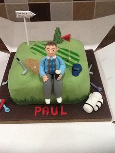 Specially for a golfers 50th. Loved doing this one :)