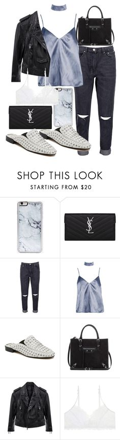 """Untitled #21354"" by florencia95 ❤ liked on Polyvore featuring Zero Gravity, Yves Saint Laurent, Boohoo, Dolce Vita, Balenciaga and Linea Pelle"