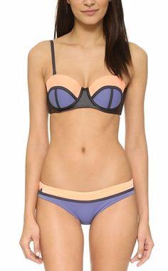 blue and orange Maaji bikini