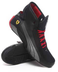 3fff61063667a5 120.00 The Alekto Mid SF Ferrari Sneakers by Puma Man Style