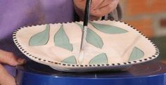 Nice glazing technique video from Ceramic Arts Daily ceramicartsdaily click the image or link for more info. Glazing Techniques, Ceramic Techniques, Pottery Techniques, Slab Pottery, Pottery Art, Ceramic Pottery, Pottery Studio, Ceramic Clay, Ceramic Painting