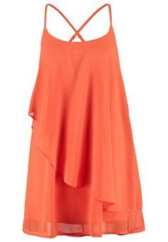 VMMIVA - Korte jurk - mandarin red
