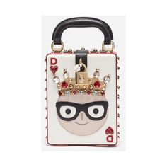 Dolce & Gabbana Dolce Box Bag With Patches of the Designers ($3,950) ❤ liked on Polyvore featuring bags, handbags, shoulder bags, white, white crossbody purse, dolce gabbana handbags, white crossbody handbags, white cross body purse and patch purse