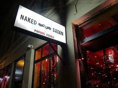 Naked for Satan. Love the name. Stay for the pintxos.