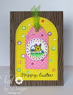 DeNami Design Blog: Happy Easter Tag Card