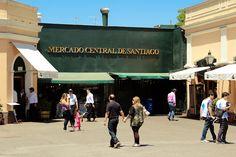 Mercado Central de Santiago, Chile.