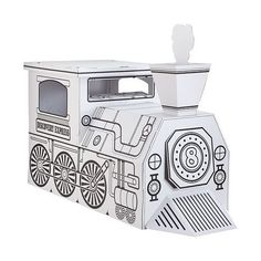 Discovery Kids Cardboard Train