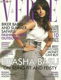 6702b4c7fe7 Bipasha Basu is featured on the cover of the April 2010 issue of Verve  Magazine.