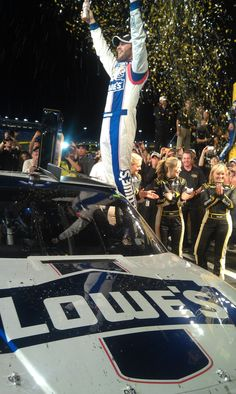 Jimmie Johnson wins his third All Star Race at Charlotte Motor Speedway
