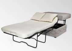 It's an ottoman that converts to a twin sleeper.