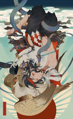 pixiv is an illustration community service where you can post and enjoy creative work. A large variety of work is uploaded, and user-organized contests are frequently held as well. Art Anime, Anime Kunst, Manga Art, Art And Illustration, Character Illustration, Character Concept, Character Art, Concept Art, Fantasy Kunst