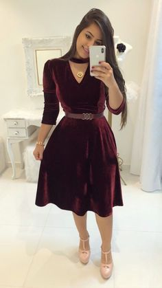 Swans Style is the top online fashion store for women. Shop sexy club dresses, jeans, shoes, bodysuits, skirts and more. Trend Fashion, Hijab Fashion, Girl Fashion, Fashion Dresses, Winter Dresses, Casual Dresses, Prom Dresses, Wedding Dresses, Classy Outfits