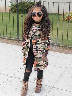 Girl fashion @KortenStEiN #littlegirlhair #KidsFashionSwag
