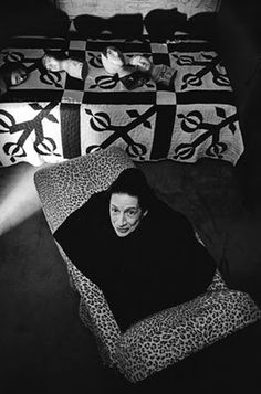 Diana Vreeland photographed by Michael Tighe, 1976