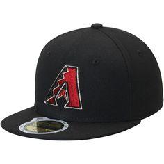 Arizona Diamondbacks New Era Youth On-Field 59FIFTY Fitted Hat - Black
