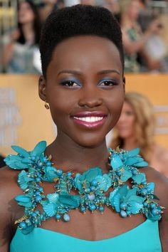 Celebrity makeup artist, Nick Barose, shows you the inspiration behind Lupita Nyong'o's SAG Awards makeup and how to get the look yourself!
