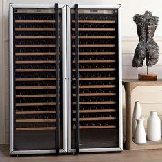 Wine Cabinet Furniture, Wine Collection, Wine Cabinets, Wine Storage, Wine Cellar, Glass Door, Shelving, France, Modern