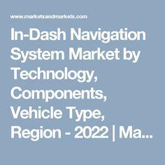 In-Dash Navigation System Market by Technology, Components, Vehicle Type, Region - 2022   MarketsandMarkets