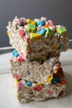 How to Make Lucky Charms Treats, aka Marshmallow Casserole