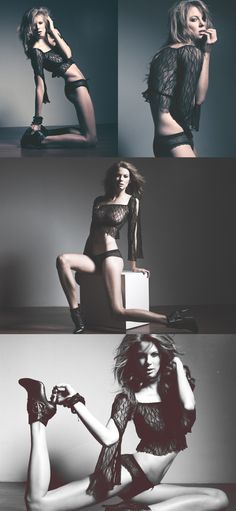 love the poses she is modeling