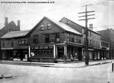 Arthur J. Drug Store, New Brunswick, Historical Society, Tent, Cabin, York, History, Architecture, House Styles