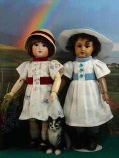 Patterns for antique, vintage and modern dolls.