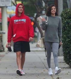Justin and Selena today // Instagram: shakaemma