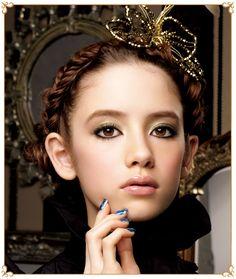 "MAJOLICA MAJORCA ""Voyage"" Kingdom of Vanity / マジョリカ マジョルカ ""ボヤージュ"" うぬぼれの国 Up Styles, Hair Styles, Photo Awards, Make Up Art, Gorgeous Hair, Beautiful, Creative Hairstyles, Sexy Asian Girls, Branding"