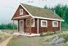 Country Chic in North Idaho: How to Build a Cabin for $4000