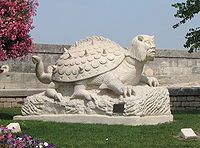 Tarasque is a giant dragon-like mythological beast who lived around the century in Tarascon, a city named after the monster. Tamed by Saint Martha, it was. Saint Martha, Lake Monsters, Legendary Dragons, Legendary Creature, Beaches In The World, Geek Culture, Mythical Creatures, Mythological Creatures, Dinosaurs