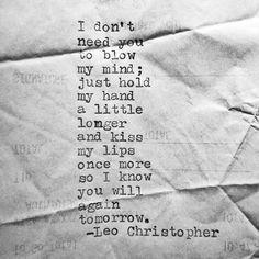 Again Tomorrow • Leo Christopher
