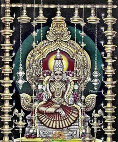 Goddess Lalita Devi ( Lalita AKA Laxmi )