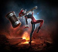 Harley Quinn - Marketing Asset
