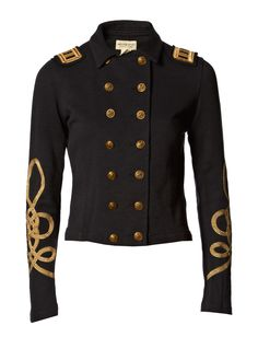 I'd like to wear this Denim & Supply Ralph Lauren officer jacket to work. Might be too dressy though..