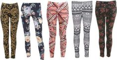 How to Wear Patterned Pants and Leggings.