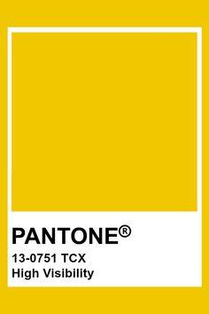 PANTONE 13-0751 TCX High Visibility #pantone #color #yellow Paleta Pantone, Pantone Tcx, Pantone Swatches, Pantone 2020, Color Swatches, Pantone Colour Palettes, Pantone Color, Colour Pallete, Color Schemes